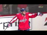 Alex Ovechkin's second PPG in game 2 vs Blue Jackets (2018)