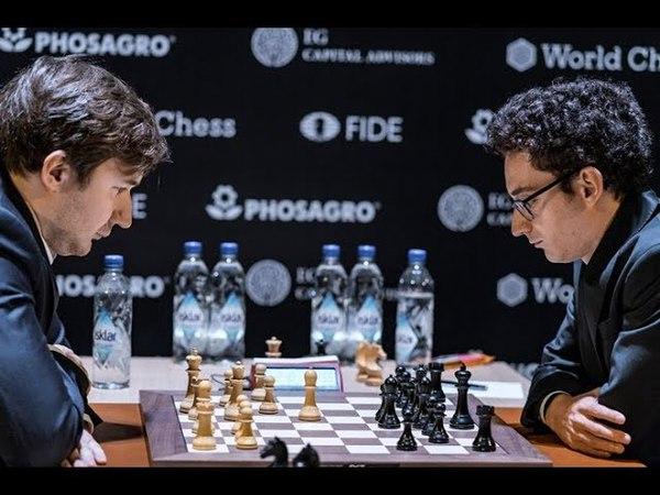 Strong Powerful BISHOP - Karjakin Crushes Caruana | Chess Candidates 2018