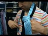 Как завязаать галстук за 10 секунд