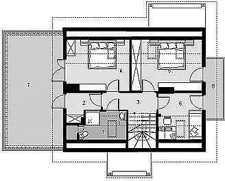 Проект оригинального домика.