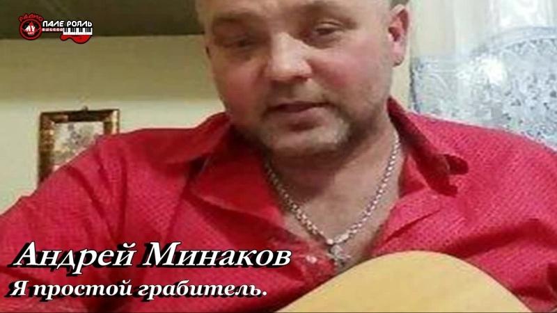 Андрей Минаков - Я простой грабитель.