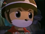 what happens when you let 4 random kids put fake subs on an episode of squirrel and hedgehog