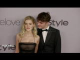 Nicola Peltz and Anwar Hadid at InStyle and Warner Bros Golden Globes 2018 After Party  January 7, 2018