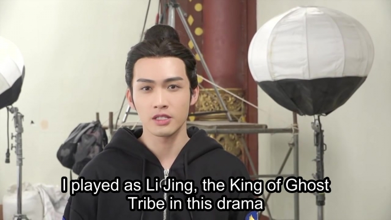 Exclusive DramaFever Shout-Out From ZHANG BIN BIN TEN MILES OF PEACH BLOSSOMS on DramaFever!