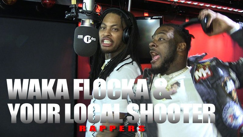 Waka Flocka X Your Local Shooter aka Loudiene Fire In The Booth