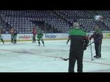 Видео с раскатки перед ретро-матчем