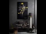 Картина DANGER ANGEL под лучами солнца и в свете уф-лампы