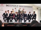 VK02.03.2018MONSTA X Press Conference HSBC Music Festival 2018 @ MONSTA X M X