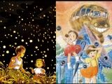 Рекламный ролик двойного проката: «Могила светлячков» и «Мой сосед Тоторо»