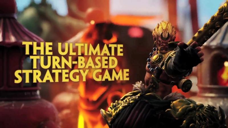 Hand of the Gods: SMITE Tactics Closed Beta Trailer