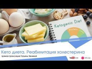 Кето диета. Реабилитация холестерина
