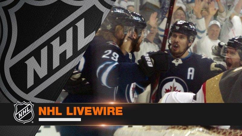 NHL LiveWire: Jets, Golden Knights lock horns in WCF Gm1