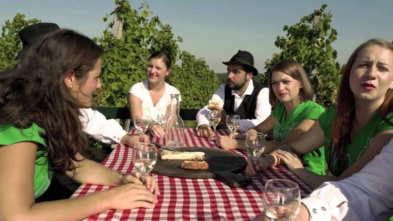 Vokalna skupina Lescecek - O jaz bogi kmet - Словения