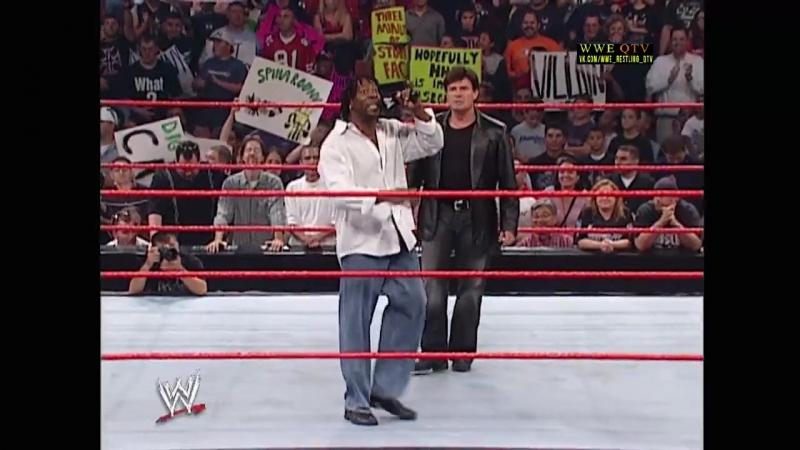 [WWE QTV]☆[WWE RAW[Фоменко]23.09.02]Booker T Eric Bischoff]Букером Ти и Эрик Бишоф]