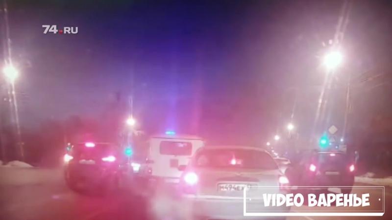 Удачный побег из полицейского бобика (VIDEO ВАРЕНЬЕ)