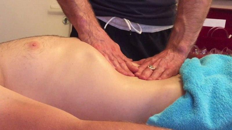Висцеральный массаж живота. Диагностика внутренних органов живота