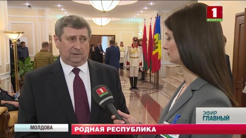 Беларусь и Молдова на неделе укрепляли взаимодействие в разных сферах.