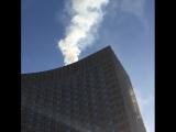 Пожар в гостинице Космос