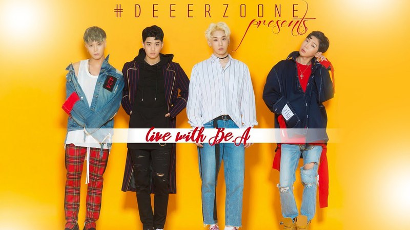 Live with Be.A special for Russian K-pop Chart | Deerzone Community