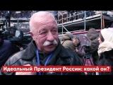 Идеальный Президент России: какой он? Опрос участников митинга 3 марта