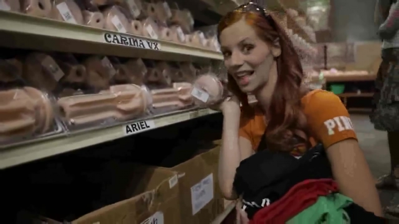EU Girls visit Fleshlight factory The Fleshlight EU Girls Suzie Carina, Silvie Deluxe, Eufrat Mai and Ariel are on a visit in th