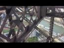 Спускаюсь с Эйфелевой башни
