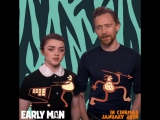 "Join Maisie Williams and Tom Hiddleston for a quick-fire game of ""Would You Rather"""