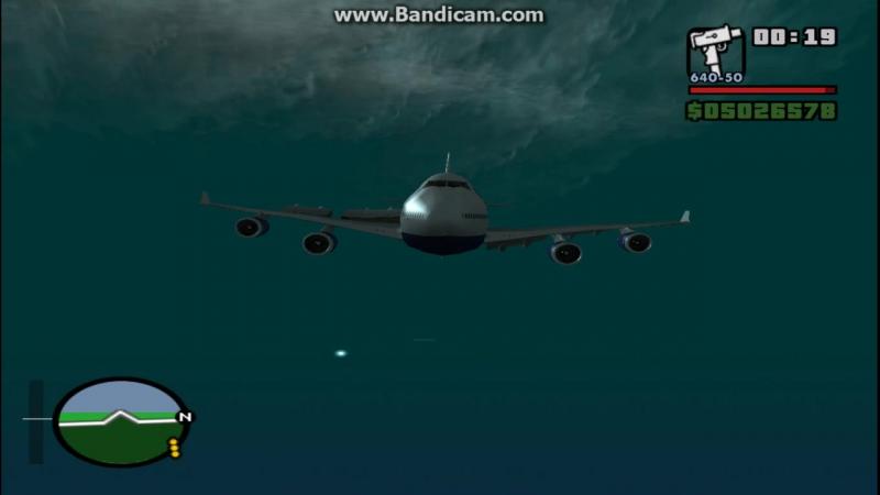 Самолет потерпевший крушение▶GTA Sаn Аndreаs