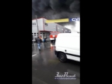Сильный пожар на рынке Атлант-сити в воскресенье ч.3 22.10.17 - Это Ростов-на-Дону!
