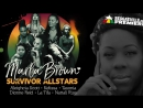 Marla Brown Survivor Allstars ft Kelissa Tasonia La Tifa Nattali Rize