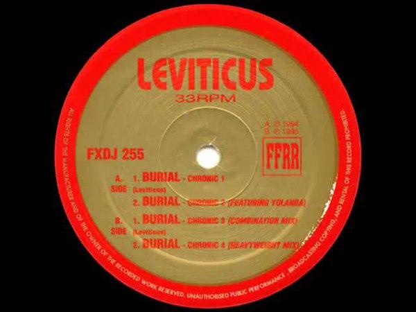 Leviticus Burial