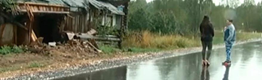 Под Нижним Новгородом рабочие проложили дорогу «сквозь» дом