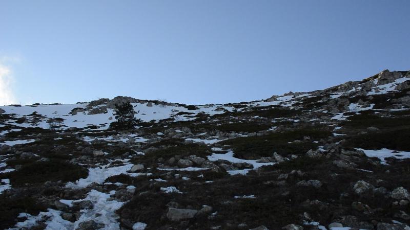 6.01.18г. Чатыр-Даг - Ангар-Бурун (1453 метра)