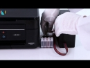 Установка бесконтактной СНПЧ на бесчиповый Epson XP 342