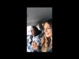 Прямой эфир Ольги Серябкиной и Кати Кищук в Instagram, 28.02.18