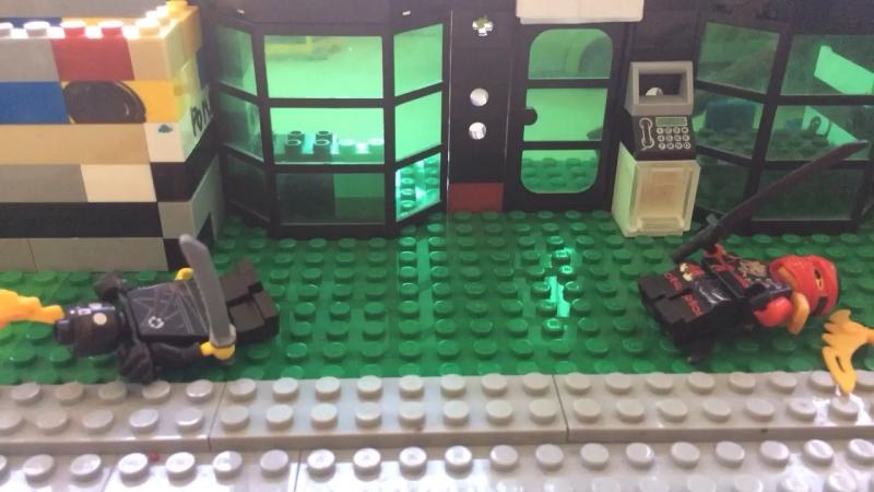 Бой Лего человечков