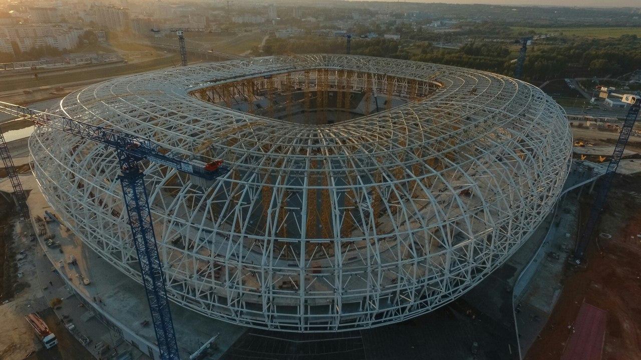 строящиеся стадионы россии фото нес любовь