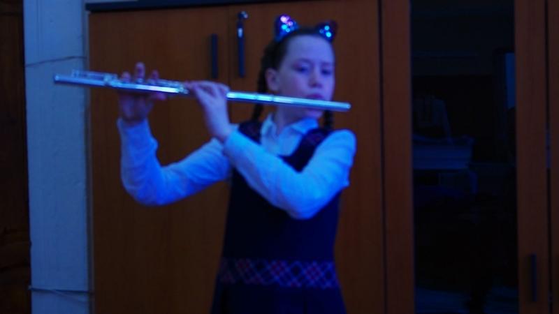 10. Соло на флейте Ларго