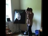 Бэкстейдж съёмок для сайта www.shop.germanytrend.com