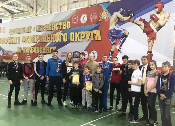Усть-илимские кикбоксеры приехали с медалями из Омска