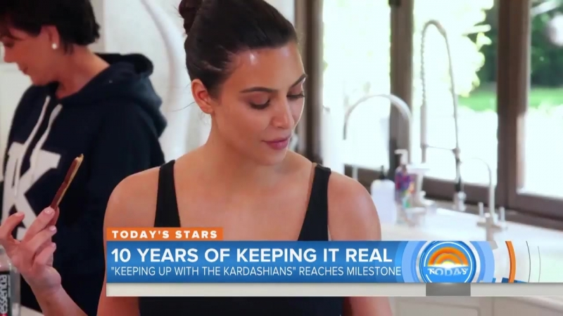 10 Years Of 'Keeping Up With The Kardashians'- Kris Jenner, Kim K Look Back - Megyn Kelly TODAY