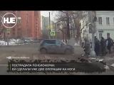 В Москве полицейская BMW  врезалась в толпу