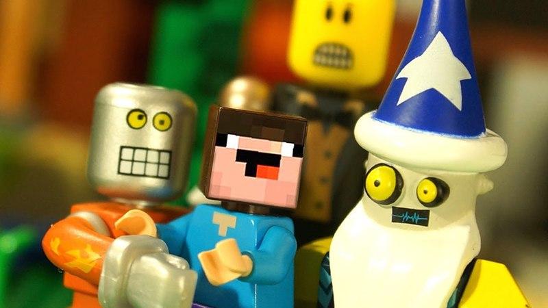 ROBLOX 2 и СВЕЧКА УНИТАЗ 💥 Лего Нубик Майнкрафт Мультики и Игрушки Роблокс Видео для Детей