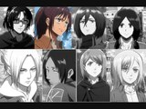 How Would Attack on Titan (Girls) Sing &amp Dance Girls Generation - Catch me if you can
