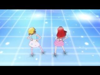 Aira Harune & Mion Takamine — «Switch On My Heart» (@ Pretty Rhythm: Aurora Dream 14)