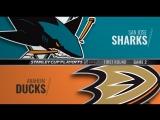 Stanley Cup Playoffs 2018 WC R1 Game 2 San Jose Sharks-Anaheim Ducks
