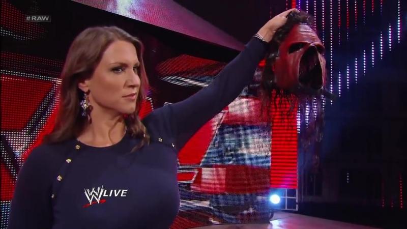 Кейн снял маску Raw 10.28.2013