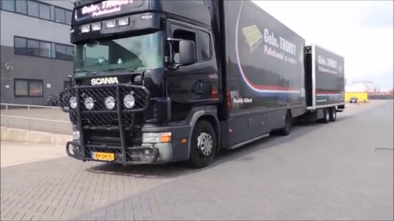 Gebr Troost Scania 144 530 V8 Sound