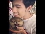 สิงโตปราชญาและน้องหมาของ @Oajun
