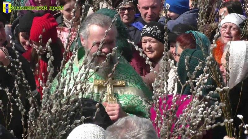 Вербное воскресенье в Вольнянске (No comments)